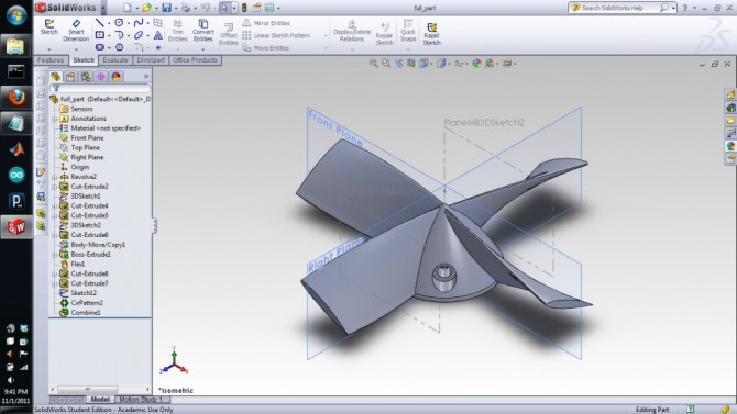 solidworks stampa 3d