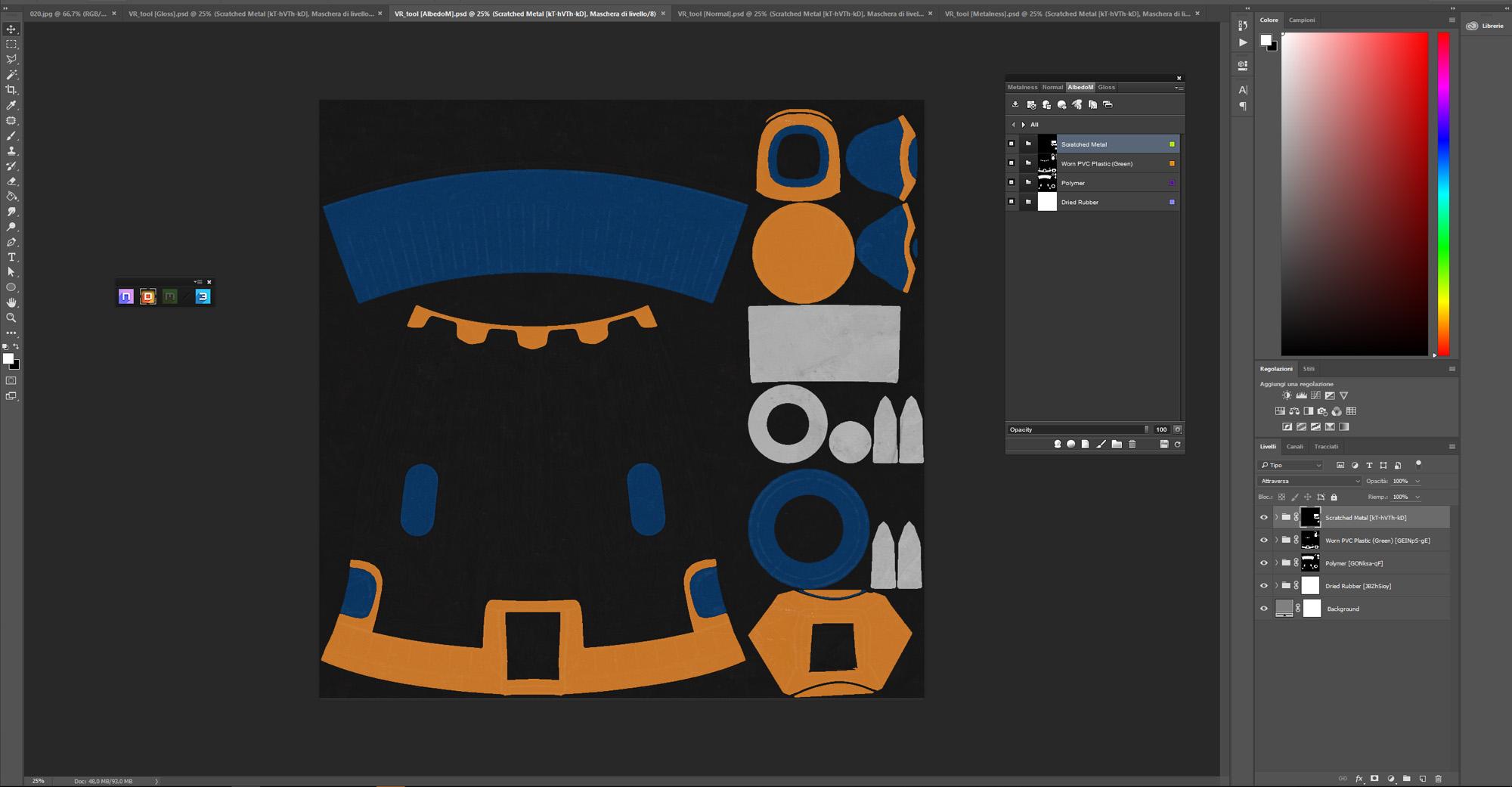 3d custom tool quixel 01 controller VR