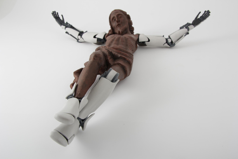 cristo protesi 3d